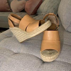 Treasure & Bond Shoes - Treasure & Bond Leather Wedges